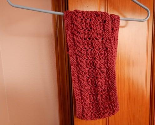 raspberry silk cashmere infinity scarf