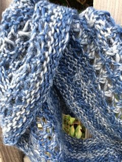 Alpaca infinity scarf