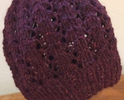 lace hat